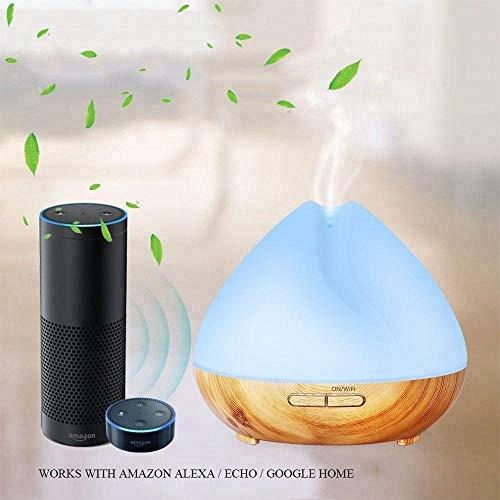 Essential Oil Alexa Echo/Google Assistant/APP Control Smart Perfume Diffuser Tuya /400ml ultrasonic humidifier air