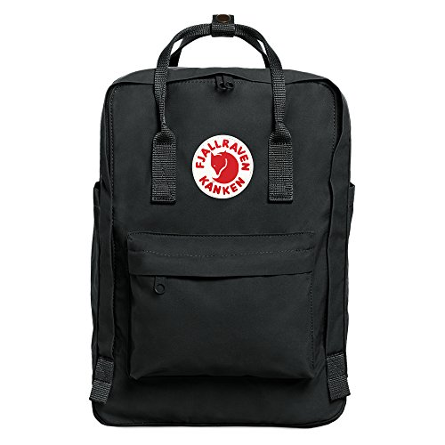 (Fjallraven Kanken Laptop Backpack, Forest Green, 15-Inch)