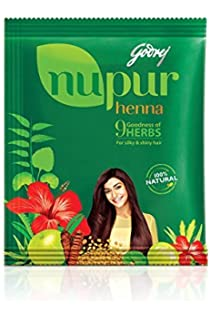 Buy Godrej Nupur Henna 400 G Online At Low Prices In India Amazon In