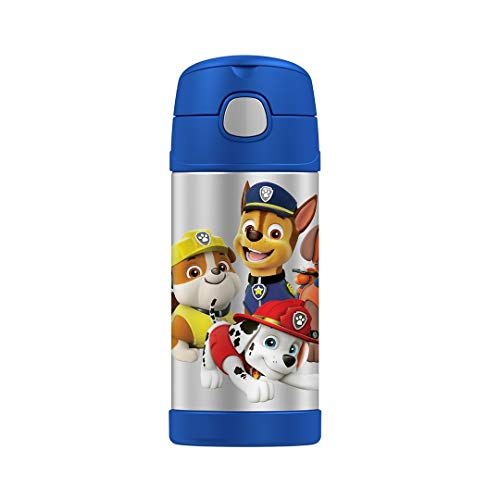 (Thermos FUNtainer 12 Ounce Bottle (12 Ounce, Paw Patrol Navy))