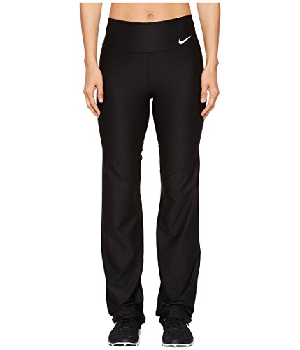 NIKE Women's Power Training Pants, Black/White, Large