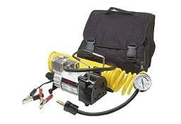 CAR+ Original Volcano Portable DC12V Multi-Use Heavy Duty Air Compressor Tire Inflator 150 PSI/ 11 BAR