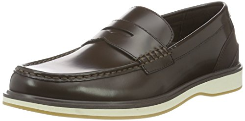 Swims Barry Penny Classic, Mocasines para Hombre Braun (Brown White 025)