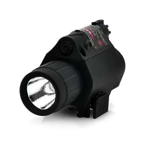Láser LED rojo con linterna