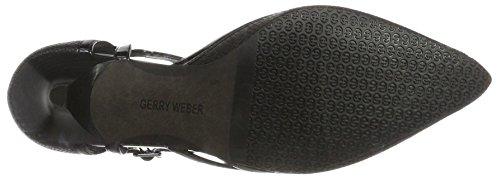 Gerry Weber Shoes G39509 830, Sandalias de Correa T Mujer Negro (Schwarz)