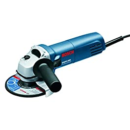 Bosch GWS 600 Professional Angle Grinder (Blue) & GDC 120 Professional Marble Cutter Combo