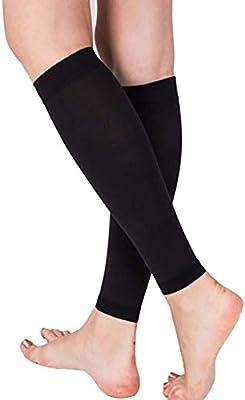 Oberschenkelhaut Krampfadern Knie bessere Durchblutung Drucksocken f/ür Damen Wade Anti-Erm/üdung zur Entlastung von Schwellungen Drucksocken ohne Fu/ß