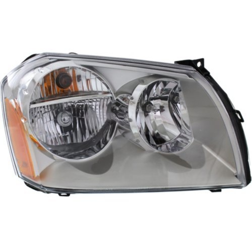Garage-Pro Headlight for DODGE MAGNUM 05-07 RH Assembly Halogen Chrome Bezel