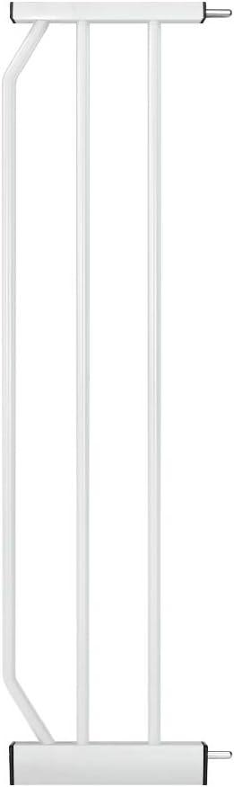 para Extensi/ón Puerta de Seguridad o Barra de la Puerta blanco 45 cm de ancho, 76 cm de alto Meinkind Escaleras//Barrera de Seguridad Extensiones