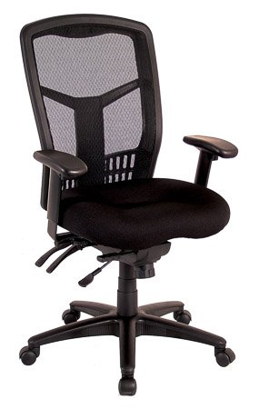 PREMIERA Coolmesh High Back Multi-Function Chair with Seat Slider ()