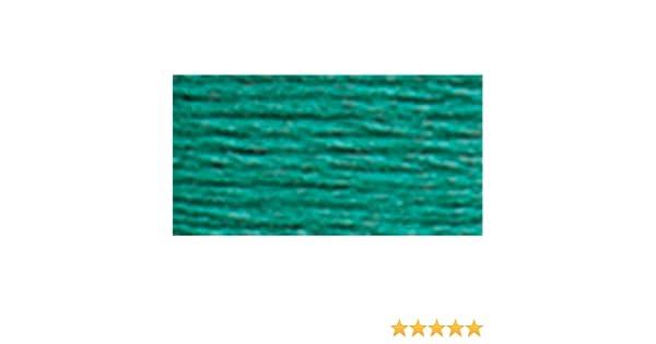 8.7-Yard Dark Seagreen DMC 117-3812 Mouline Stranded Cotton Six Strand Embroidery Floss Thread