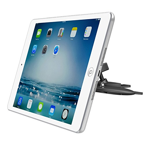 APPS2Car Magnetic CD Slot iPad Car Mount Universal Tablet Dash Holder for 6-10.1 Inch Tablet, iPad Mini 4 3 2 1, iPad 2 3 4 Pro 9.7