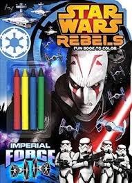 Download Star Wars Rebels Shaped Fun Pads W/ Crayons PDF