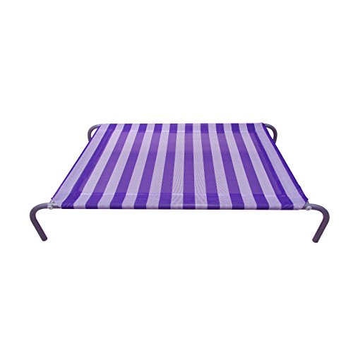 Allmax Nutrition Elevated Pet Bed with Mesh Fabric and St...