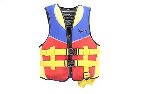 Children's Swim Life Vest 5-6 Years Colour Yellow (Life Vests 5x)