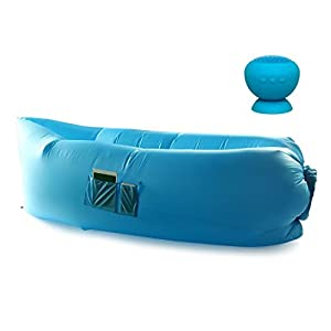 CloudLounger w/ Bluetooth Speaker - Light Blue