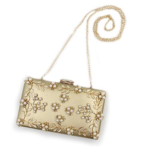 Pochette doré Silver femme pour Flada moyen argent dnxAWYW0wq