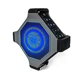ECOXGEAR EcoEdge Plus GDI-EXEGPL410 Rugged Waterproof Floating Portable Bluetooth Wireless 20 Watt Smart Speaker with…