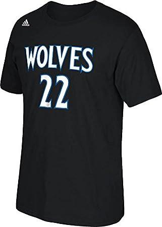 Minnesota Timberwolves Andrew Wiggins NBA nombre y número camiseta – negro, ...