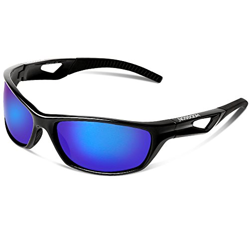 HODGSON Sports Polarized Sunglasses, 100%UV Protection Unbreakable Sports Glasses for Men or Women Cycling, Baseball Riding, Driving, Running, Golf,Outdoor Activities