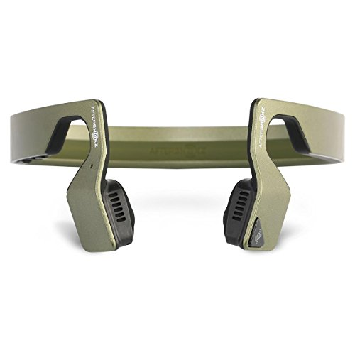 Aftershokz Gamez Bone Conducting Wireless Gaming Headphones (Green Metallic)