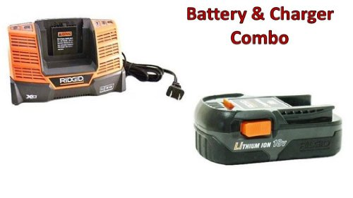 Ridgid R86006 Drill 18V 1.5Ah Li-on Battery & 18V Charger (R840093) Combo # 130383025-BC-140154001