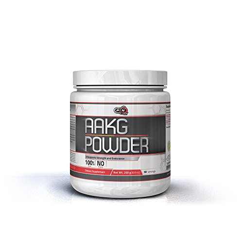 - L-Arginine AAKG Powder Nitric Oxide Booster Supplement 5000mg|Pure L Arginine Alpha Ketoglutarate Amino Acid for Muscle Growth Extra Strength Pump Vascularity Energy and Endurance|50 100 200 Servings