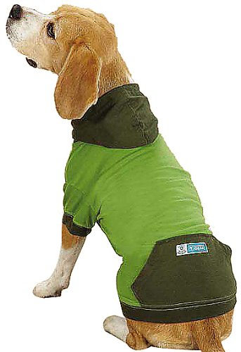 Guardian Gear Insect Shield Pullover Pet Apparel, Small/Medium, Green For Sale