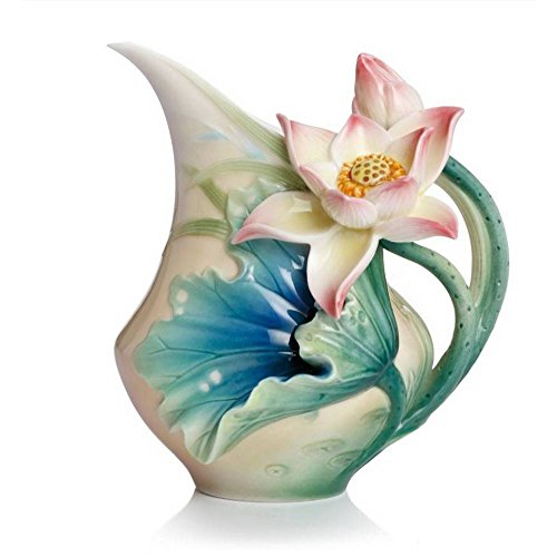 Lotus Harmony Porcelain (Retired Franz Fine Porcelain Lotus Harmony Creamer)