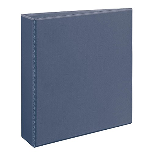 "Avery Heavy-Duty View Binder with 2"" One Touch EZD(TM) Rings , Soft Purple, 1 Binder (79339)"