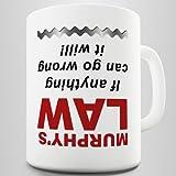 Murphy's Law Coffee Mug