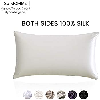 Amazon Com Lilysilk 100 Silk Pillowcase For Hair
