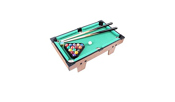 Mesa De Billar Pool con 2 × Señales, 16 × Bolas De Billar, Accesorios Mini Set De Deporte De Billar for Interior Al Aire Libre (Color : S): Amazon.es: Hogar