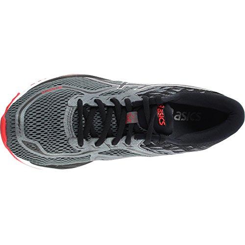 Chaussure De Running Gel-cumulus 19 Asics Mens Noir / Carbone / Rouge
