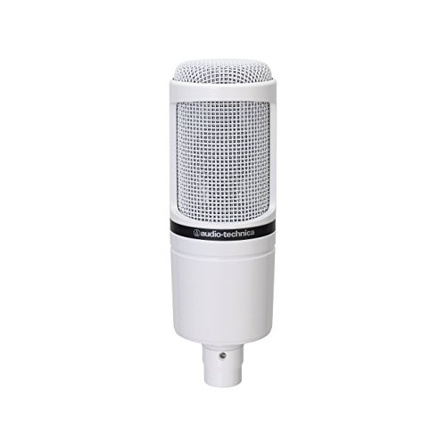 Audio-Technica AT2020 Cardioid Condenser Studio Microphone, White by Audio-Technica (Image #1)