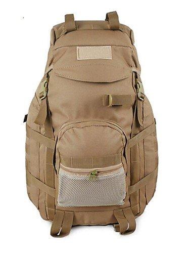 GXS Tuobu ® 60l Armeeart Camping Wanderrucksäcke wasserdicht mit regen Abdeckung sepension unisex tby10