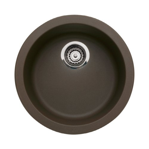 Blanco BL515803 BlancoCorondo Single Bowl Bar Sink, Brown