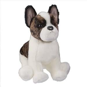 Douglas Cuddle Toys Frenchy - Perro bulldog francés de peluche