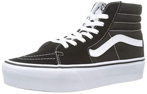 Mixte Reissue Baskets Vans Noir Leather Sk8 Adulte hi HBBqPX