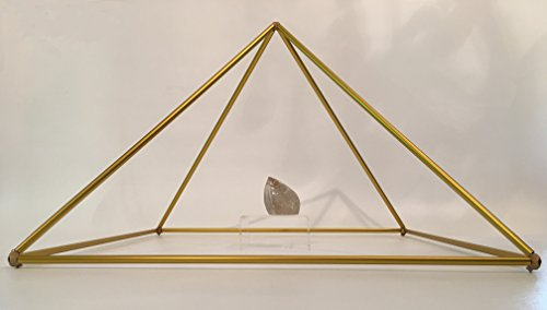 25'' Gold-Anodized Titanium Pyramid Frame Kit from Nick Edwards' Pyramid Planet by Nick Edwards Pyramid Planet (Image #2)