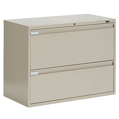 Global Furniture 9300 Series Collection 2 Drawer Lateral File 42