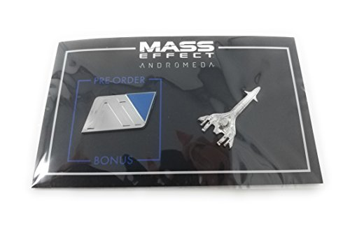 Mass Effect: Andromeda Initiative and Pathfinder Pin Set - Loot Crate Exclusive