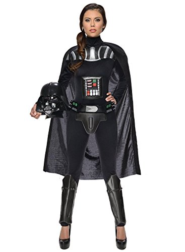 Women's Star Wars Darth Vader Deluxe Costume Jumpsuit, Multi, Medium