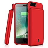 iPhone 8 Plus/7 Plus/6 Plus Battery Case Support Headphones, YISHDA 7000mAh Rechargeable Extended - Best Reviews Guide