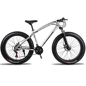 41%2BdAgTxj L. SS300 JXH 26 * 17 Pollici Fat Bike Fuoristrada Spiaggia Neve Bike 27 velocità velocità Mountain Bike 4.0 Pneumatico Largo…