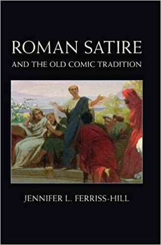 Roman Satire And The Old Comic Tradition Amazon Co Uk Jennifer L