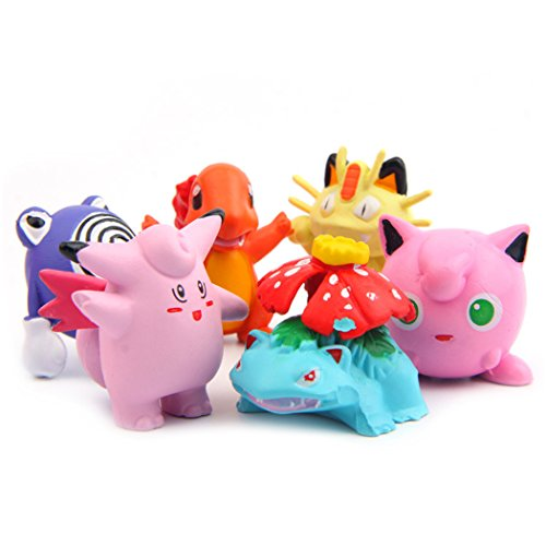 6 Pcs  Monster Collection Pokemon, Pokemon Action Figures, 1