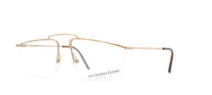 Essilor - Montures de lunettes - Homme Or Doré  Amazon.fr  Vêtements ... faa49adb4628