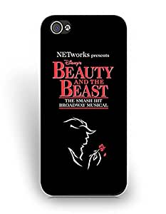 Cartoon Iphone 5/5S Funda Case, Beauty and the Beast Animation Iphone 5/5S Funda Case, Durable Funda Case
