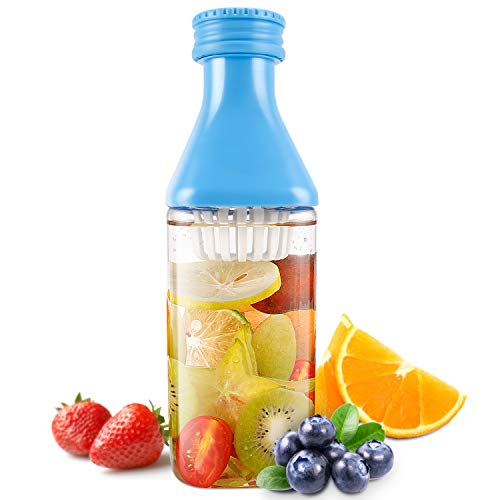 Evron Flavor Fruit Infusion 1000 ml Bottle Ideal Use For Indoor And Outdoor (Blue)